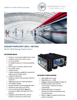 APU LIGHT RAIL BEIJING AIRPORT EXPRESS