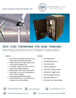 Converters for Wind Renewables