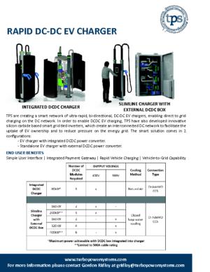 EV Charger Datasheet